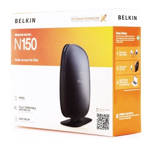 Belkin N150 PC Wi-Fi Internet Computer Router FREE SHIPPING