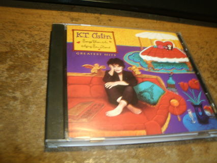 cd-k.t. oslin-greatest hits-country-used-ex