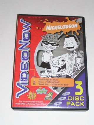 Free Video Now Nickelodeon 3 Disc Pack Rugrats All Grown Up