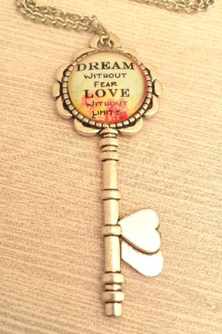 Follow Your Dreams - Insperational Necklace