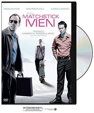 Matchstick Men dvd full screen