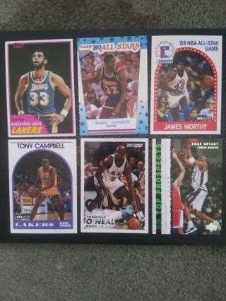(Lakers) Jabbar, Magic, Kobe, Shaq, Worthy