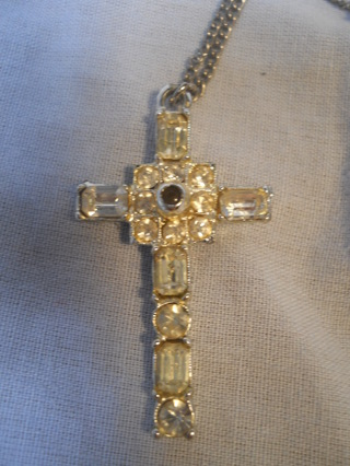 Free: Christian Lords Prayer Cross Vintage Necklace - Necklaces