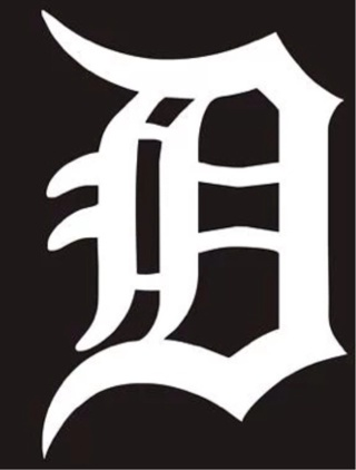 """6"""" X 4"""" Detroit Tigers D Baseball Car Decal Sticker Use GIN Get 2 + Free Shipping!"""