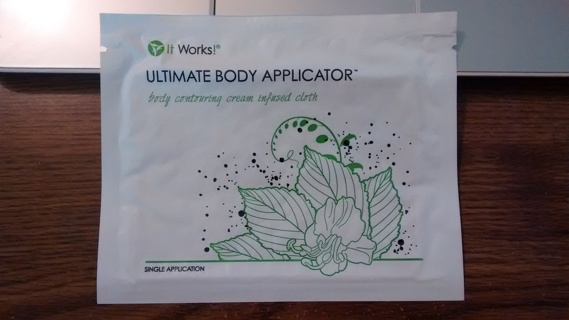 """It Works """"That Crazy Wrap Thing!"""" Ultimate Body Applicator. Body contouring cream infused cloth."""