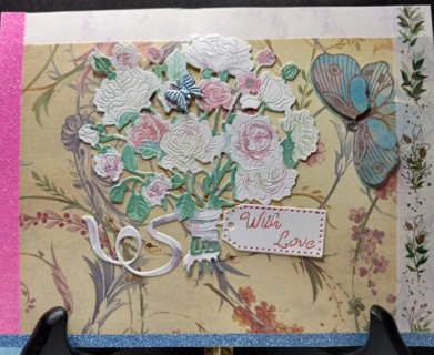 """BN '""""WITH LOVE"""" HAND CRAFTED CARD"""