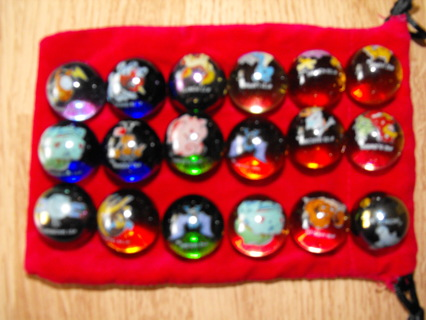 POKEMON COLLECTOR MARBLES