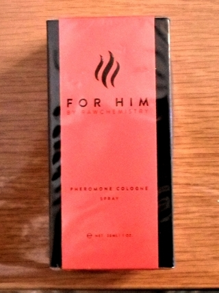 For Him by Raw NEW Chemistry Pheromone Cologne Spray 1 oz - FREE SHIPPING