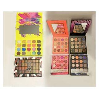 ♥️Brand new Lot of (4) Eyeshadow Palettes Makeup beauty lot (BH Cosmetics etc)