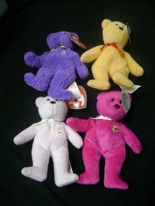 "TY ""mini"" McDonald's Beanie Bears"