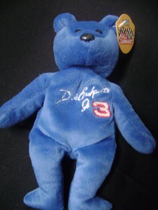 Dale Earnhardt Jr Beanie Bear