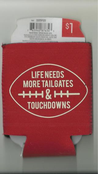 Tailgates and Touchdowns - Game Day cup cozy