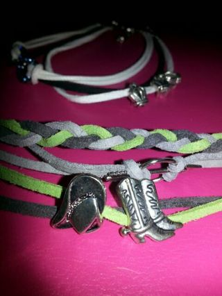 **Two Cute Handmade bracelets**Free Ship!! New lower price!!