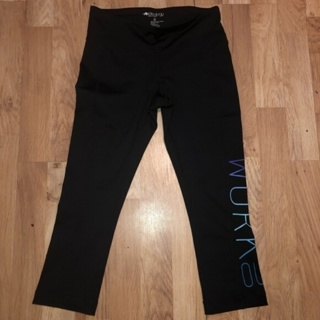 IDEOLOGY Work Out Crop Pant XS