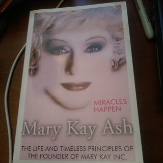 Miracles Happen- By Mary Kay Ash- LIfe and Times of Mary Kay Founder Paperback