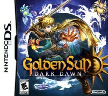 Golden sun ds game