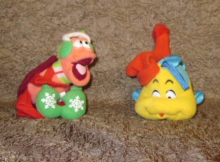Mcdonalds Christmas Ornament.Free Vinatage Mcdonalds Little Mermaid Christmas Ornaments