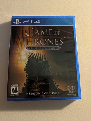 Game of Thrones - A Telltale Games Series - PlayStation 4