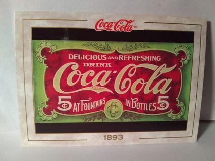 1993 Cocoa Cola Trading Card