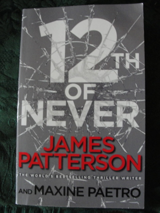 """James Patterson """"12th of Never""""Women's Murder Club"""
