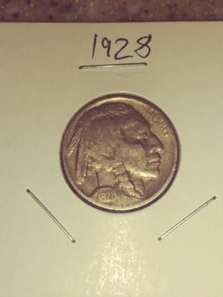 1928 Buffalo Nickel! 77