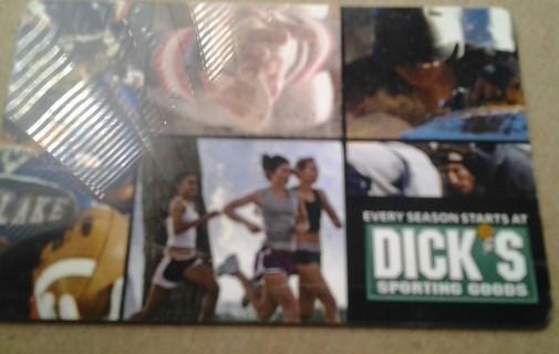 Dicks Sporting Goods Gift Card