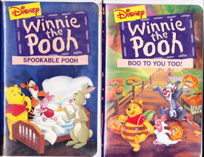 Free: HALLOWEEN VHS SPECIAL!! WINNIE THE POOH,