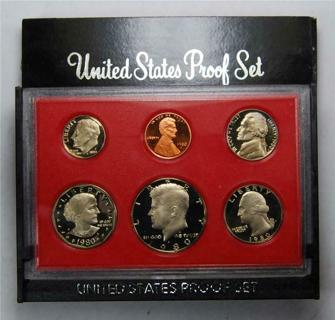 1980 USA Proof Set - Best Offer Accepted