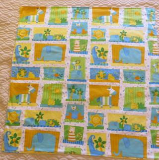 Baby Flannel Blanket Jungle Animals New Handmade