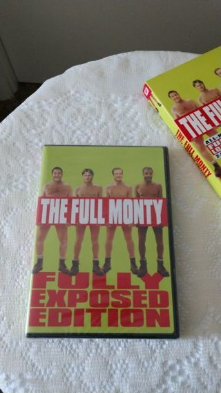 New! The Full Monty all new fully loaded 2 disc DVD. Free shipping
