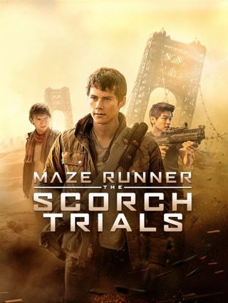 The Maze Runner: The Scorch Trials HD digital copy ONLY
