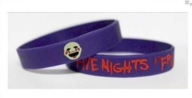 1 Five Nights at Freddy's Wrist Band PUPPET bracelet wristband Video Game JEWELRY