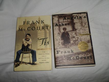 tis a memoir frank mc court essay Frank mccourt was born in 1931 in essay editing services literature angela's ashes was soon followed by his 1999 memoir 'tis, a continuation of mccourt's.