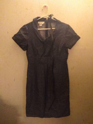 Dress in Dark Blue