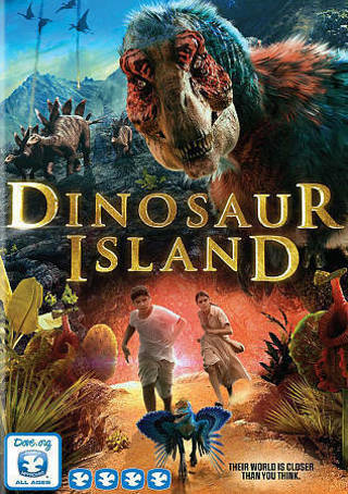 2015 Dinosaur Island DVD Movie-New & Sealed-Their World is Closer than you Think!