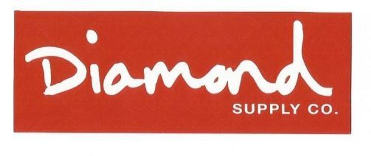1 NEW DIAMOND SUPPLY CO. Sticker Free Shipping Winner! like Crooks & Castles OBEY Supreme DOPE swag