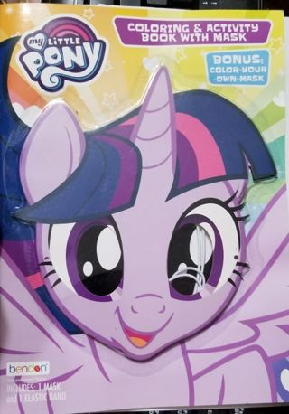 My Little Pony Coloring & Activity Book (+)