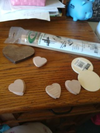 Assorted Wood Pieces for Crafts
