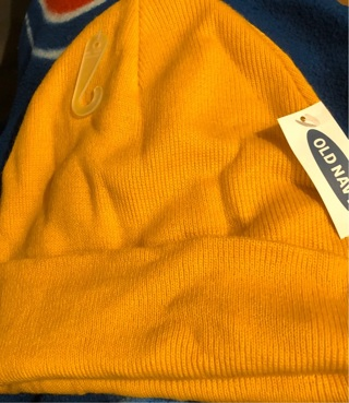 BNWT Soft Old Navy Mustard Winter Hat!  One Size Fits All.