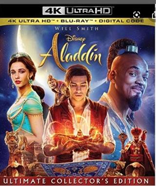 Disney's Aladdin (2019) Digital HD Google Play Code Ports to Vudu via Movies Anywhere
