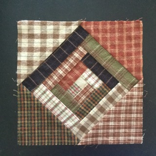 Checkered Quilt Square