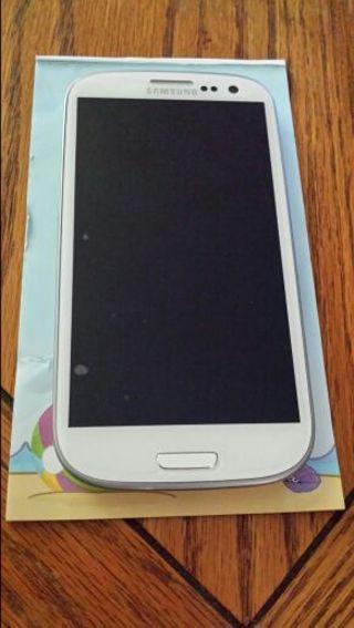 White Samsung Galaxy S3
