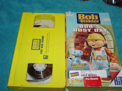 bob the builder vhs