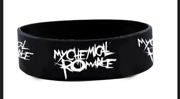 My Chemical Romance Wristband Bracelet Music Band Fan Jewelry Winner Wins ONE GIN