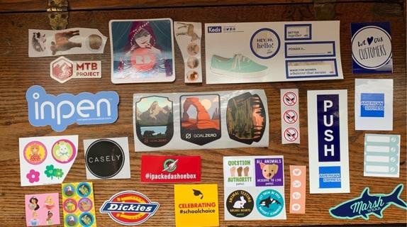 350 stickers