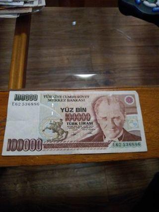 Turkey 100000 Lira