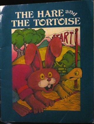 """The Hare and the Tortoise"" Softcover Book"