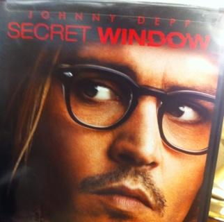 SECRET WINDOW starting Johnny Deep