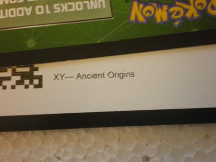 Pokemon Ancient Origins Code