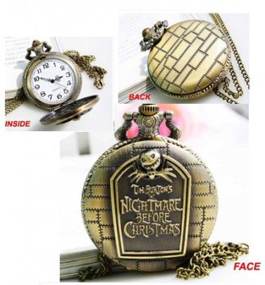 Free Beautiful Nightmare Before Christmas Haunted Mansion Inspired Pocket Watch Watches Listia Com Auctions For Free Stuff